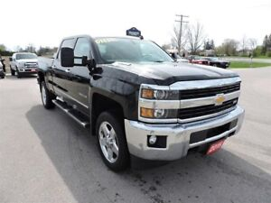 2015 Chevrolet Silverado 2500 LTZ. Diesel. Leather. Sunroof. Nav