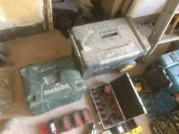 Metabo 18v laser and hand tools