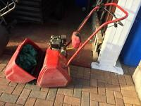 Cylinder Petrol lawn mower with roller