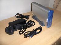 External Portable Desktop Hard Drive, capacity 160GB USB 2.0