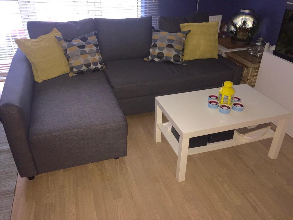free sofa ikea friheten in wembley london gumtree. Black Bedroom Furniture Sets. Home Design Ideas