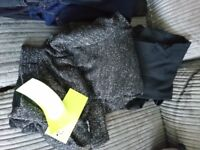 Size 16 and 14 maternity clothes, medium nursing top bnwt