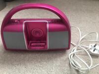 iPod docking station/ fm radio.