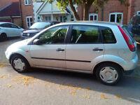 "Ford Fiesta ""spare or repair"""