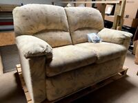 G-Plan 2 Seater Floral Compact Loveseat Sofa - Delivery Available