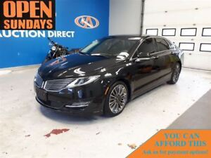 2015 Lincoln MKZ AWD! NAVI! SUNROOF! LEATHER! FINANCE NOW!