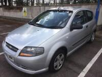2006 CHEVROLET KALOS S 1.2, 64,000 MILES, NEW MOT SEPTEMBER 2018, DRIVES GREAT, SAME AS CORSA CLIO