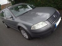 55 reg AUTOMATIC top spec volkswagon passsat 1.9 diesel estate with 11 months mot+tax+FREE DELIVERY