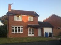 Capel St Mary:- 3 Bed Detached House, Garage & Garden - NOW LET