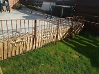 3 piece of driveway or garden gate heavy and very sturdy