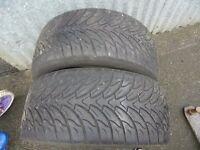 275 x 40 x 20 part worn tyres pick up 4x4 etc