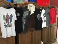 Men's Clothes Bundle - T-shirts and Jacket - River Island / Next / Redbubble Etc. Size Large / XL