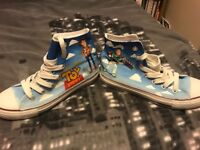 RARE Toy Story hand painted shoes! Size 5