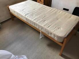 Two single beds that can come out to form a double