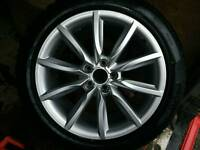 18 inch Audi alloy with Pirelli winter tyre