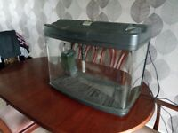 Fish tank, good condition with all accessorys. £40