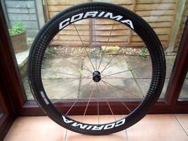 'Corima' Carbon Deep & Disc Wheel-Set.