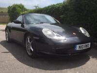 2004 Porsche Boxster black