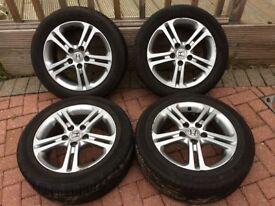 4 * Honda Civic 16 alloy wheels
