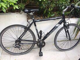 Mens hybrid bike- 24 gears - Tuscan planet