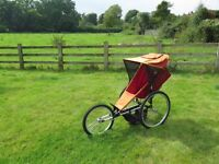 Jogger buggy pushchair stroller running