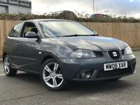 2008 SEAT IBIZA SPORTRIDER (LIMITED EDITION) 1.4 * 3 DOOR * PETROL * ALLOYS * MOT * P/X * DELIVERY