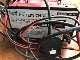 Master charger 6/12 volt battery charger