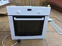 Whirlpool Electric Oven, Gas Hob, Extraction Fan and matching facia grill