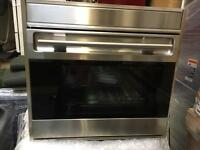 Wolf wall oven single cooker gaggenau miele inc vat