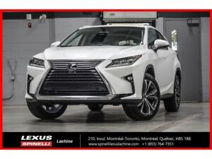 2018 Lexus RX 350L LUXE 6 PASSAGERS AWD; CUIR TOIT GPS LSS+