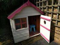 Children's wooden playhouse 4x4