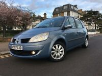 RENAULT SCENIC 1.6 PETROL 6SPEED MANUAL,LOW MILAGE 76k, DRIVES GOOD