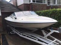 21ft fletcher speed boat
