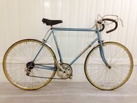 Ideal for Commuting Sky blue road bike 10 speed