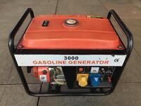 3000 Gasoline Generator 2.8kw 230v 110v 12v