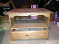 Solid Pine TV Stand or small side board