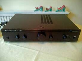 Cambridge Audio A1 amp.