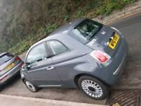 2011 (61) Dark Grey Fiat 500 Lounge *NEW MOT*