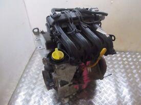 2010 RENAULT CLIO MK3 1.2 ENGINE D4F740 46000 MILES #4596