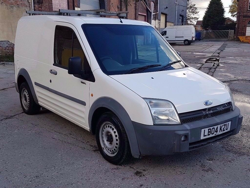 2004 FORD TRANSIT CONNECT 1.8 TD L 200 SWB LOW ROOF, DIESEL VAN,ONLY 84K, DRIVES VERY WELL !!
