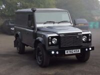 land rover defender 110 full galvanised chassis rebuild