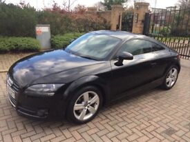 Audi TT fsi 2008 new shape low mileage very reliable,p-ex welcome,aa/rac welcome