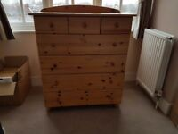 Pine chest of drawers. IKEA.