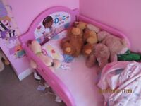 Doc Martins Pink Childs first Bed. As new hardly used therefore in perfect order.