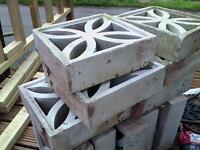 Decorative Garden Blocks