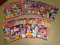 RARE Match! Magazine Collection - 19 Issues (Premier League Season 2003-04)
