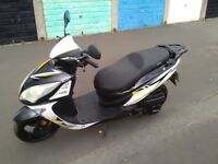 Sinnis shuttle 125 64 plate spares repairs £180 ovno
