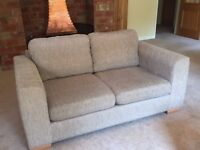 JOHN LEWIS Three Seater and Two Seater SOFAS. ONLY FOUR YEARS OLD. Excellent condition.