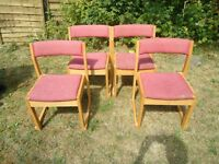 DINING CHAIRS SET (6 x Chairs)