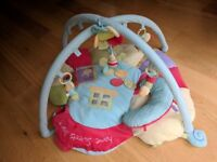 Little bird told me softly snail snuggle time playmat and gym